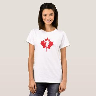 Canada Women's Hockey Maple Leaf Player T-Shirt