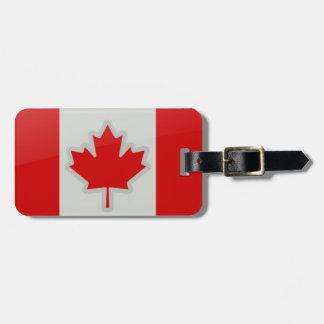 Canadain Flag - luggage tag