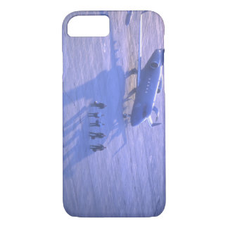 Canadair Challenger_Military Aircraft iPhone 7 Case