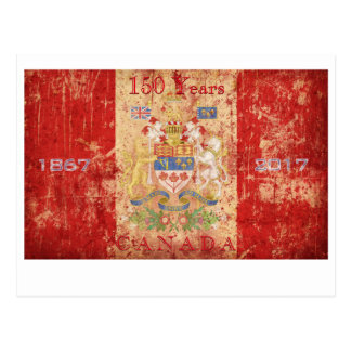 Canada's 150th Anniversary Birthday Celebration Postcard