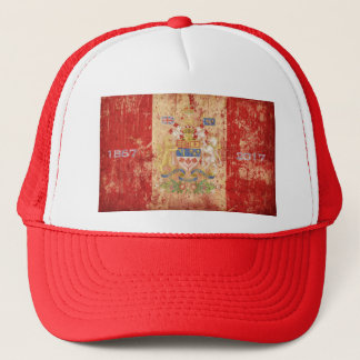 Canada's 150th Lion & Unicorn Coat of Arms Trucker Hat