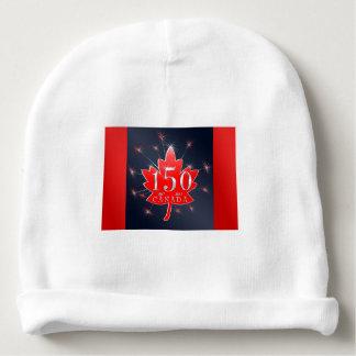 Canada's 150th Maple Leaf & Fireworks Celebration Baby Beanie