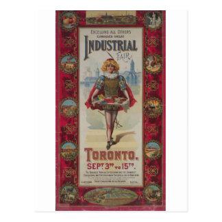 Canada's Great Industrial Fair Postcard