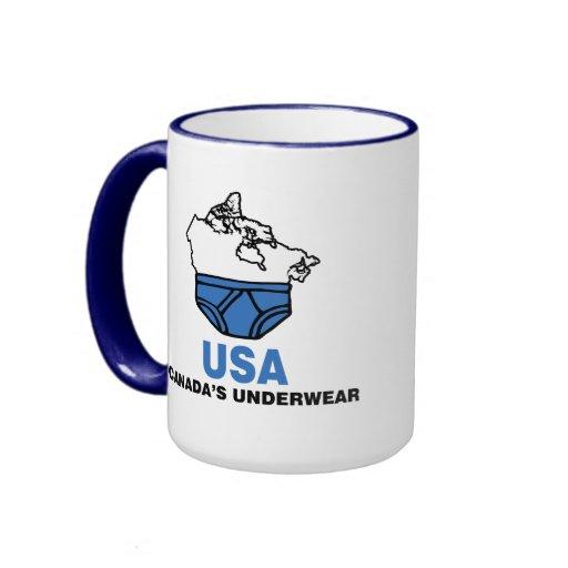 Canada's Underwear Ringer Coffee Mug