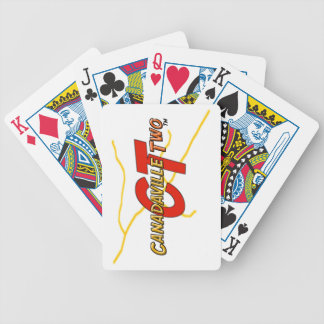 Canadaville Two Poker Deck