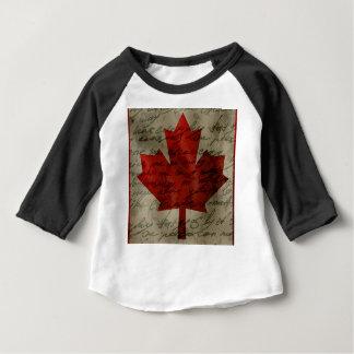 Canadean flag baby T-Shirt