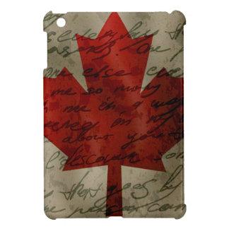 Canadean flag iPad mini cover