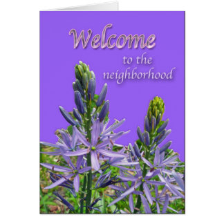 Canadensis Lily Welcome to the Neighborhood Card