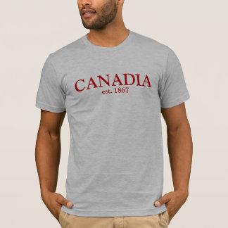 Canadia est 1867 T-Shirt