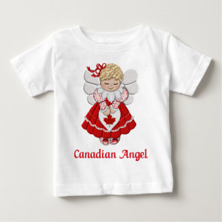 Canadian Angel Baby T-Shirt