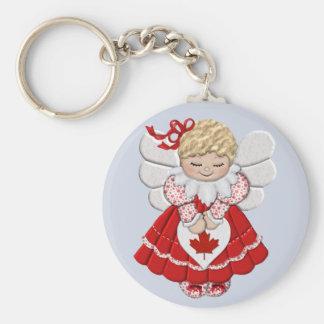 Canadian Angel Keychain