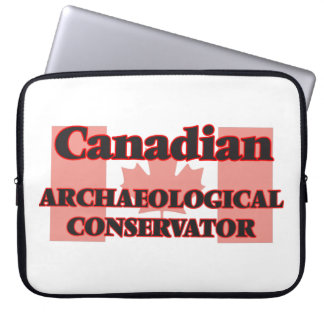 Canadian Archaeological Conservator Computer Sleeve