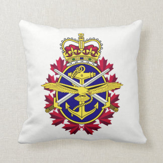 Canadian Armed Forces Throw Pillow