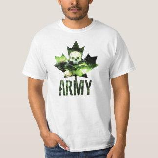 Canadian Army Skull T-Shirt