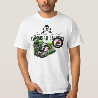 Canadian Army Sniper - One Shot One Kill! T-Shirt