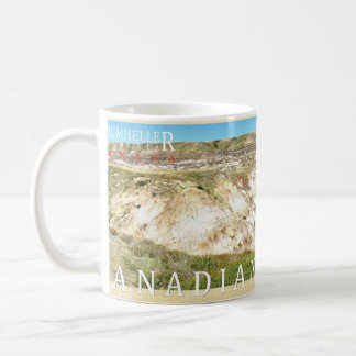 Canadian Badlands Drumheller Panoramic Photo Mug