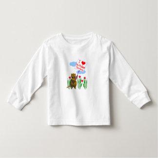 Canadian Beaver Loves the Yukon Toddler T-shirt