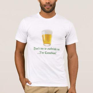 Canadian Beer Drinking Humor-Oktoberfest T-Shirt