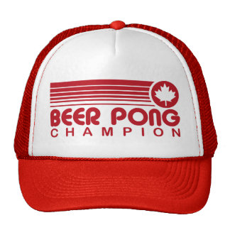 Canadian Beer Pong Trucker Hat