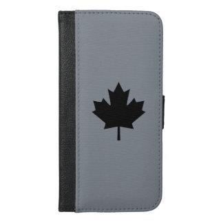 Canadian Black Maple Leaf Decor
