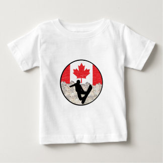 Canadian Boarders Baby T-Shirt