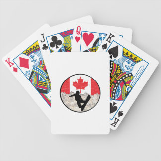 Canadian Boarders Bicycle Playing Cards