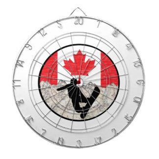 Canadian Boarders Dartboard