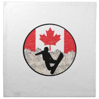 Canadian Boarders Napkin