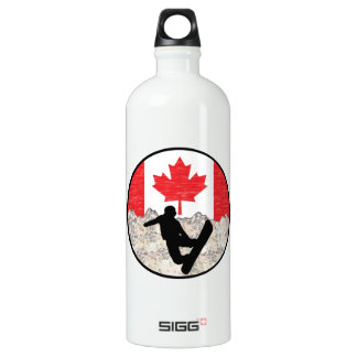 Canadian Boarders Water Bottle