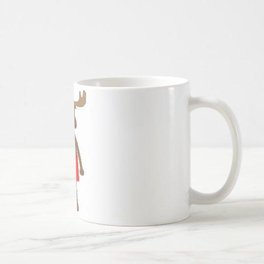 Canadian Boxer Short Moose Coffee Mug