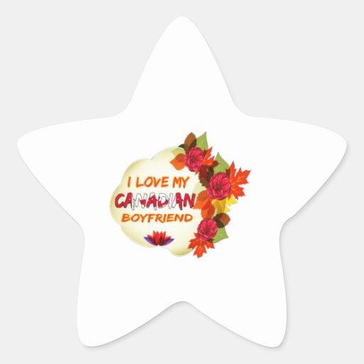Canadian Boyfriend Design Sticker
