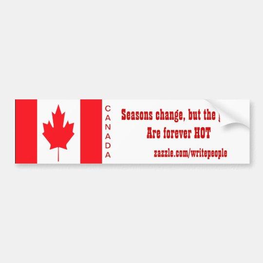 canadian bumper stickers
