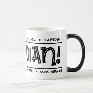 """Canadian Characteristics"" Full Wrap MORPHING Mug"
