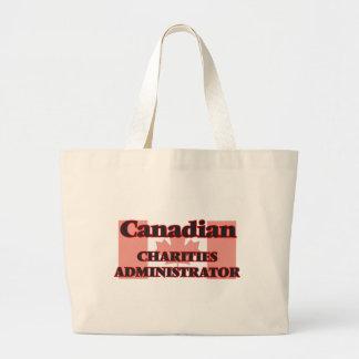 Canadian Charities Administrator Jumbo Tote Bag