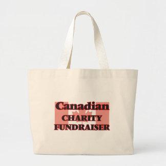 Canadian Charity Fundraiser Jumbo Tote Bag