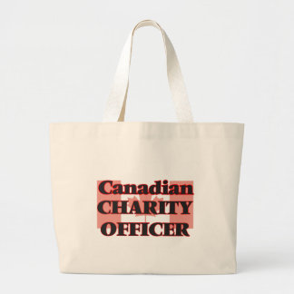 Canadian Charity Officer Jumbo Tote Bag