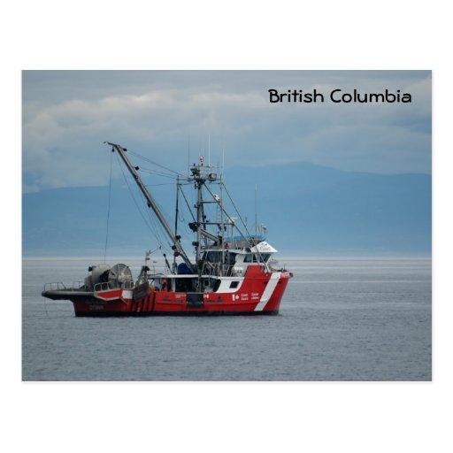 Canadian Coast Guard Postcards