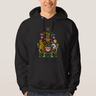 Canadian Coat of Arms Hoodie