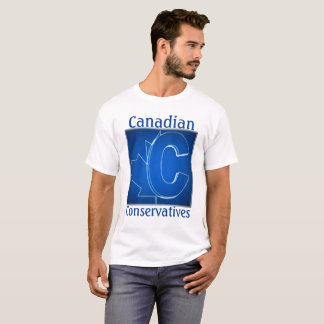 Canadian Conservatives Blue Logo T-Shirt