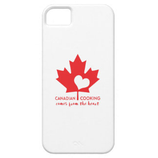 Canadian Cooking Comes from the Heart iPhone 5 Cover