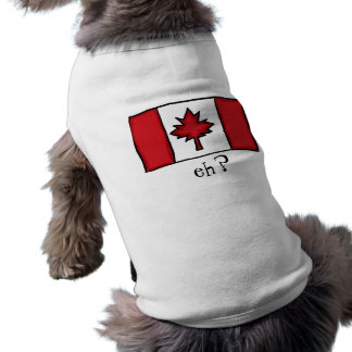 Canadian dog shirt