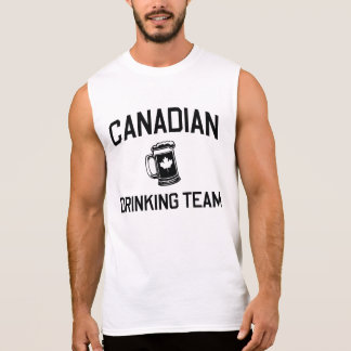 Canadian Drinking Team Sleeveless Shirt