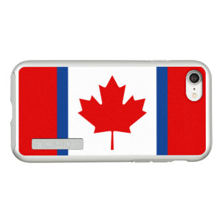 Canadian Duality Silver iPhone Case