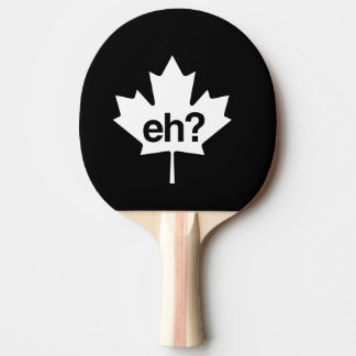 Canadian Eh? Maple Leaf Ping Pong Paddle