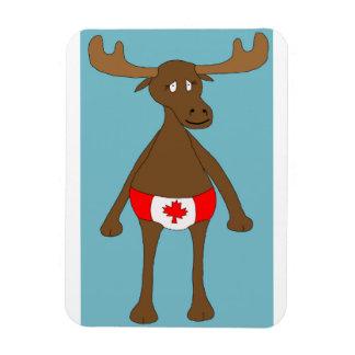 Canadian, Eh? Moose Magnet