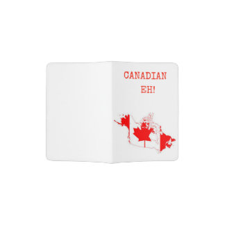 Canadian Eh! Passport Holder
