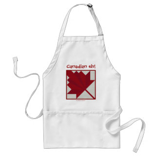 CANADIAN EH! STANDARD APRON