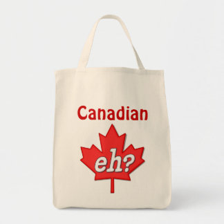 Canadian Eh? Tote Bag