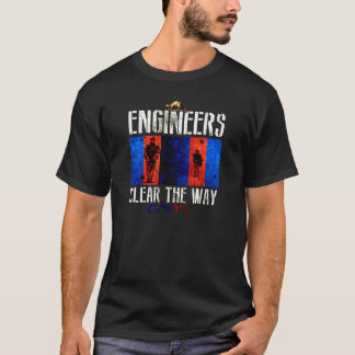Canadian Engineers Lead The Way - Chimo! DARK T-Shirt