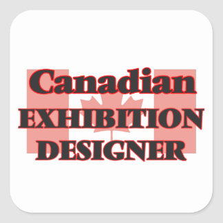 Canadian Exhibition Designer Square Sticker